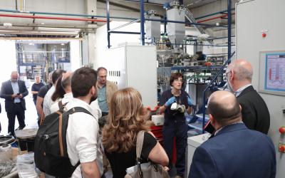 El tejido empresarial aragonés conoce la investigación del CSIC en Aragón en materia de energía y medio ambiente