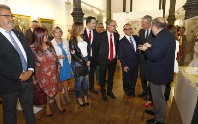 La vicepresidenta del CSIC inagura una nueva exposición sobre el legado de Ramón y Cajal