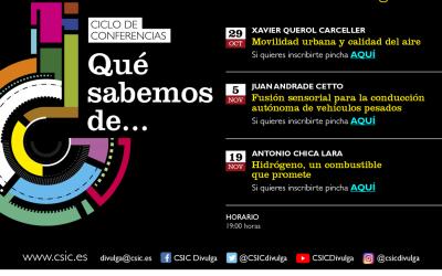El Csic de Aragón vuelve con un nuevo ciclo de conferencias «¿Qué sabemos de …?» en formato virtual