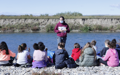 Más de mil voluntarios analizan el agua de los ríos de Aragón a través del proyecto #RíosCiudadanos