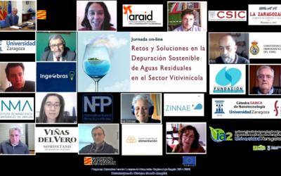 """Jornada """"Retos y soluciones en la Depuración Sostenible de Aguas Residuales en el Sector Vitivinícola"""""""
