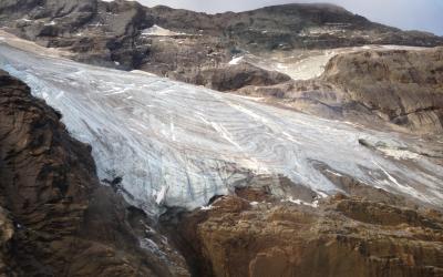 Un estudio del lnstituto Pirenaico de Ecología revela que el glaciar de Monte Perdido resistió a los periodos cálidos de la época romana y medieval