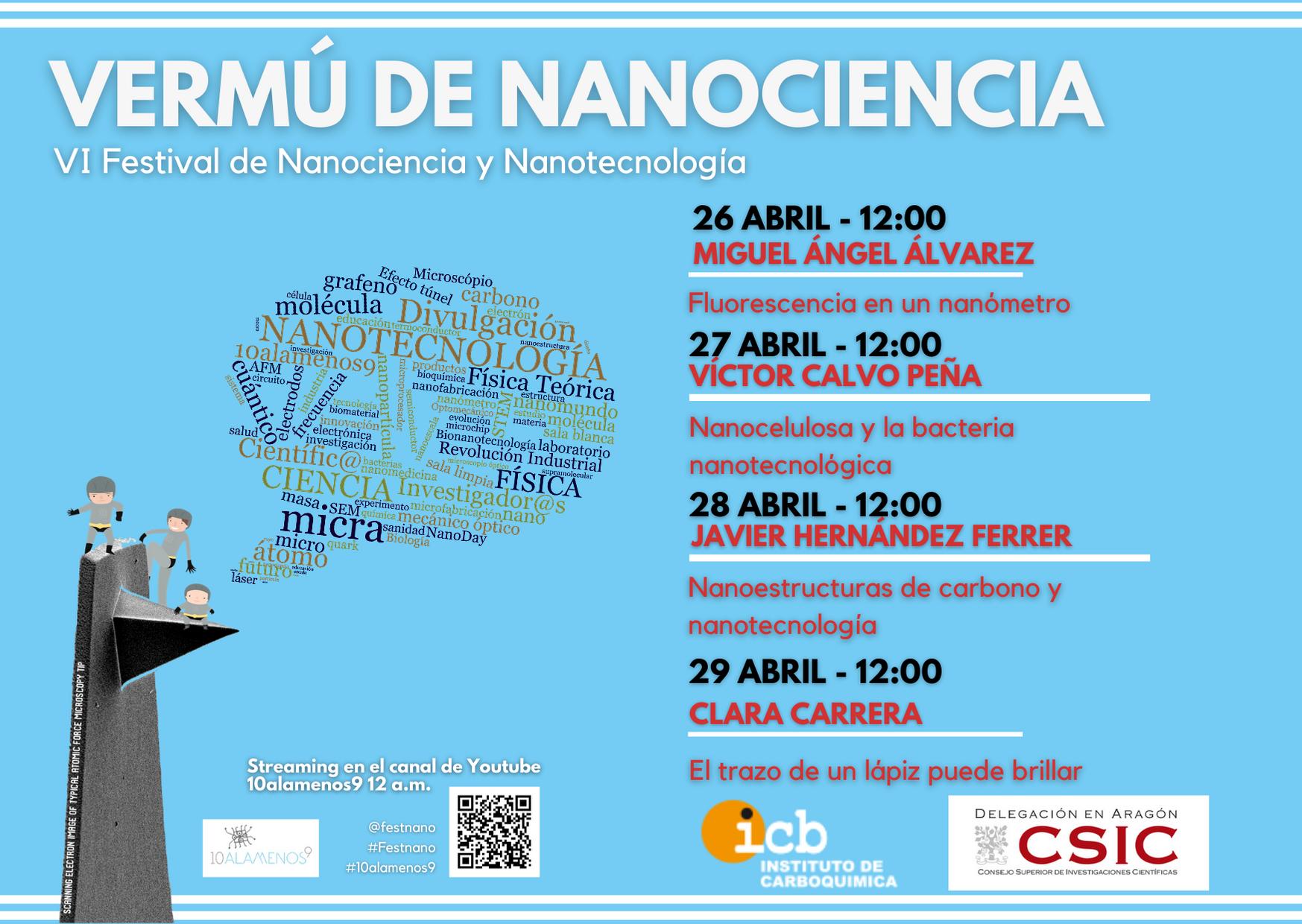 Vermú de Nanociencia VI Festival de Nanociencia y Nanotecnología