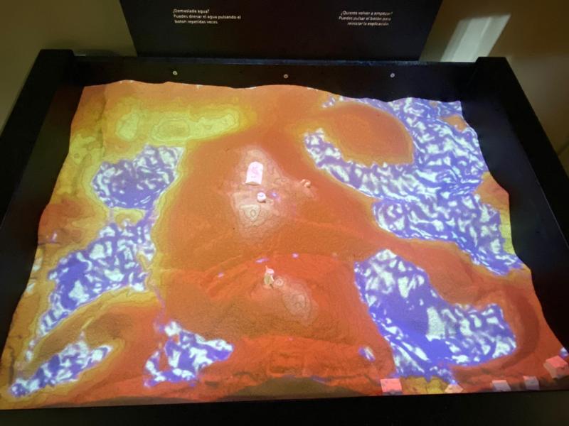 El CSIC en Aragón cede su caja de arena de realidad aumentada al Museo de Ciencias Naturales