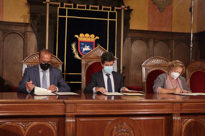 El Consejo Superior de Investigaciones Científicas, el Gobierno de Aragón y el Ayuntamiento de Huesca firman un protocolo general de actuación para poner en valor el legado de Santiago Ramón y Cajal