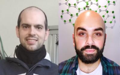 Dos estudiantes de doctorado en el LMA y el INMA, premios a las mejores tesis doctorales de la Sociedad de Microscopía de España (SME).